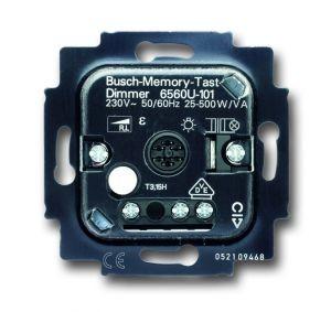 BUSCH-JAEGER 6560U-101 Tastdimmer 20-500W