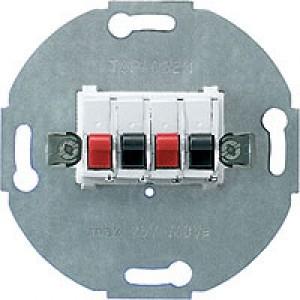 JUNG SLA2WW Stereo Lautsprecher Anschlussdose