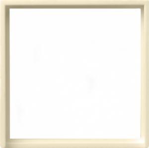 Gira 028201 Zwischenring für 50x50mm Abdeckung Cremeweiß glänzend