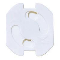 5 Stück Steckdosen Kinderschutz Steckdosenschutz Teddy-Automatik, weiß